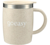 Dagon Wheat Straw Mug With Stainless Liner - 14 oz.