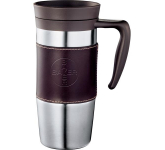14 oz. Cutter & Buck® American Classic Leather Mug