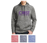Sport-Tek PosiCharge Electric Heather Fleece Hooded Pullover