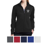 Sport-Tek Ladies' Sport-Wick Fleece Full-Zip Jacket