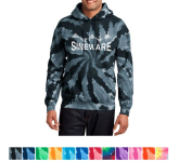 Port & Company Tie-Dye Pullover Hooded Sweatshirt