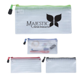 Clear Zippered Pencil Case
