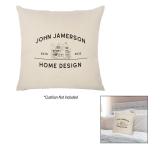 "16"" x 16"" Cotton Canvas Pillow Cover"