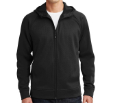 Sport-Tek Rival Tech Fleece Full-Zip Hooded Jacket