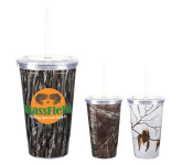 16 oz. Realtree Newport Acrylic Tumbler With Insert