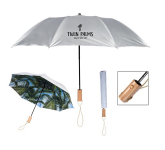 "46"" Arc Palm Bay Folding Umbrella"