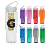 28 oz. Poly-Clean™ Sports Bottle With Fruit Infuser