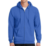 Port & Company Essential Fleece Full-Zip Hooded Sweatshirt