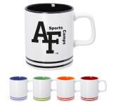 10 oz. Lacrosse Ceramic Coffee Mug