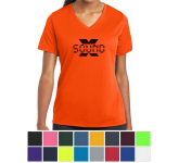 Sport-Tek Ladies' PosiCharge RacerMesh V-Neck Tee