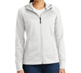 Sport-Tek Ladies' Rival Tech Fleece Full-Zip Hooded Jacket