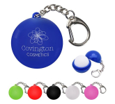 Lip Moisturizer Ball Key Chain