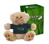 "6"" Big Paw Bear With Custom Box"