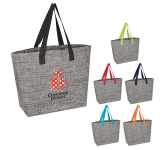 Heathered Mesh Tote Bag