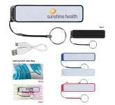 UL Listed Portable Charger With Key Ring