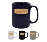 15 oz. Peek-A-Bamboo Stoneware Mug