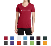 Port & Company Ladies' Performance Blend V-Neck Tee