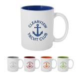 11 oz. Pop Of Color Engraved Mug