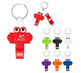 Clipster Buddy 3-In-1 Charging Cable Key Ring