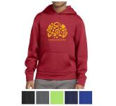 Sport-Tek Youth Sport-Wick Fleece Hooded Pullover