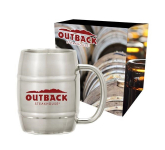 14 oz. Moscow Mule Barrel Mug With Custom Box