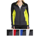 Sport-Tek Ladies' Tech Fleece Colorblock Full-Zip Hooded ...