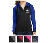 Sport-Tek Ladies' Sport-Wick Varsity Fleece Full-Zip Hood...