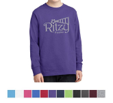Port & Company® - Youth Long Sleeve Cotton T-Shirt