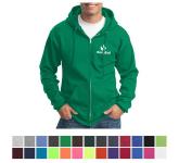 Port & Company Core Fleece Full-Zip Hooded Sweatshirt