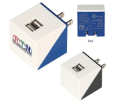 UL Listed Diagonal Dual Port Adapter