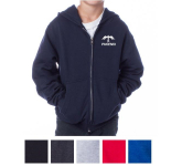 Independent Trading Company Youth Midweight Zip Hooded Sw...