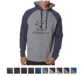 Independent Trading Company Men's Raglan Hooded Pullover ...