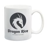 11 oz. Vitrified Ceramic Coffee Mug