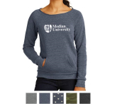 Alternative Ladies' Maniac Eco -Fleece Sweatshirt