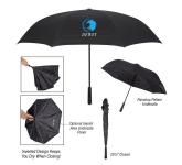 """48"""" Arc Rain Drops Inversion Umbrella"""