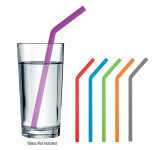 Bent Silicone Straw