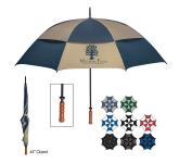 "68"" Arc Windproof Vented Umbrella"