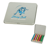 Denver 12-Piece Colored Pencil Tin