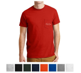 Gildan DryBlend 50 Cotton/50 Poly Pocket T-Shirt