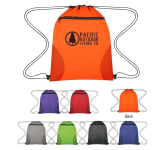 Courtside Drawstring Sports Drawstring Bag