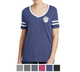 Alternative Ladies' Varsity Vintage 50/50 Tee